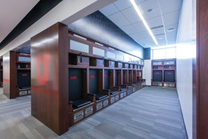 U of U locker room